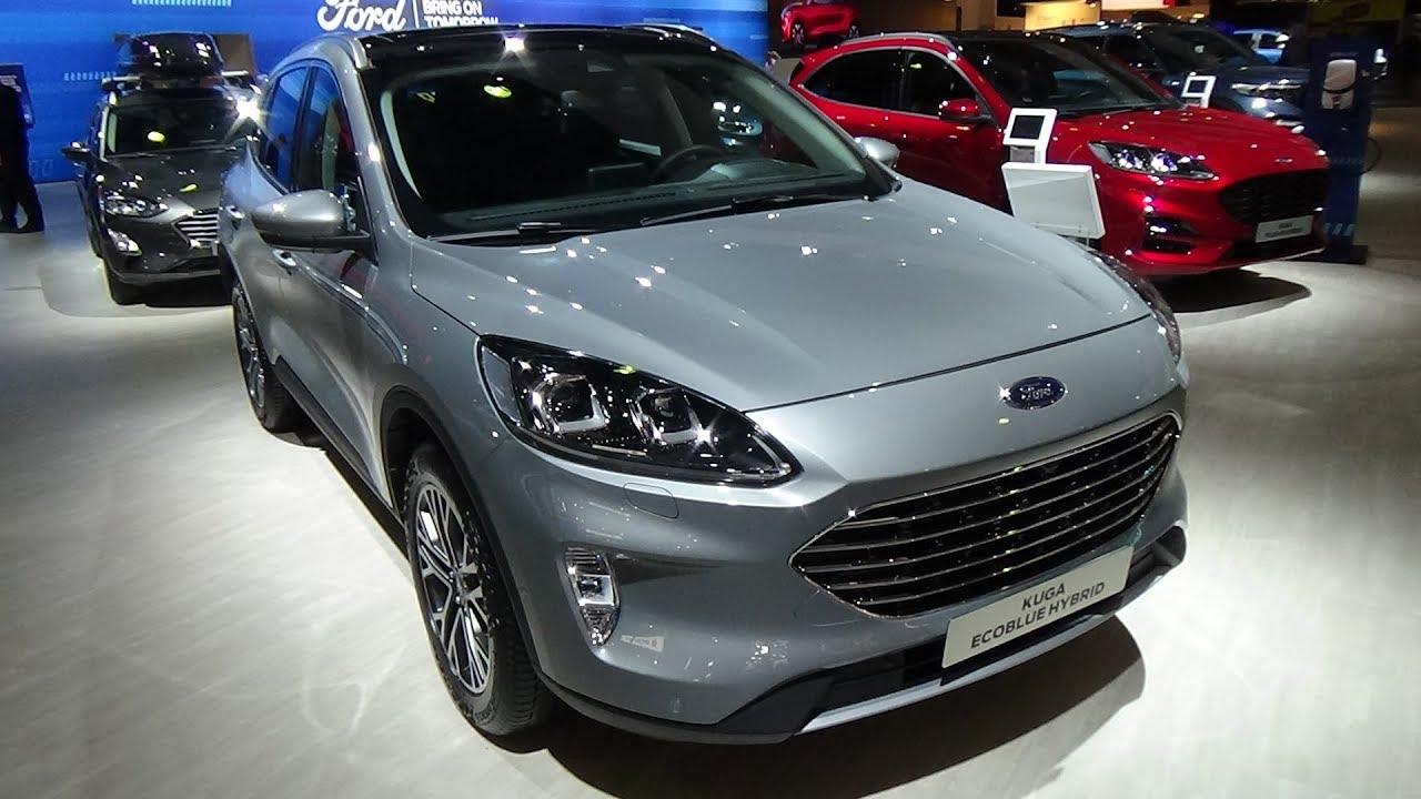 2020 Ford Kuga 2 0 Ecoblue Mhev 150 Titanium Exterior And