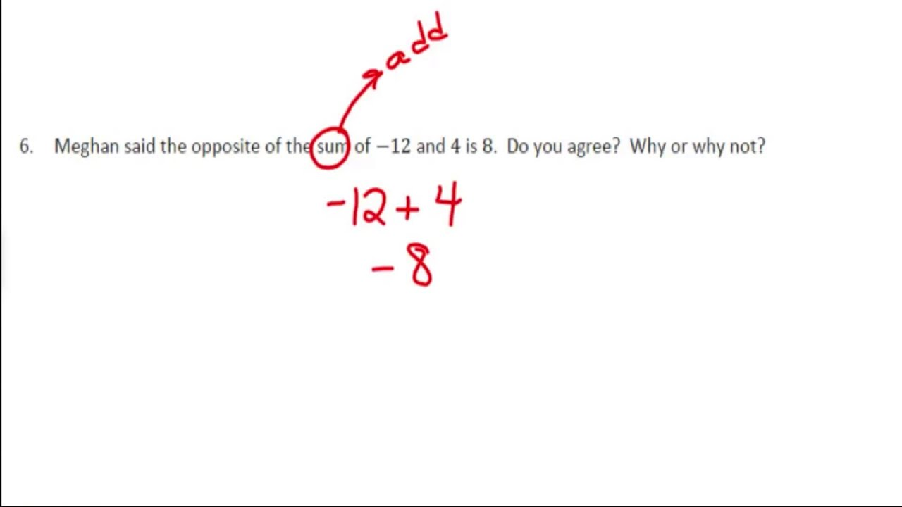 Applying the Properties of Operations to Add and Subtract