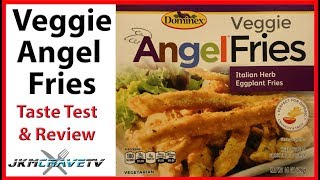 Domenix | Veggie Angel Eggplant Fries | Taste Test and Review | JKMCraveTV