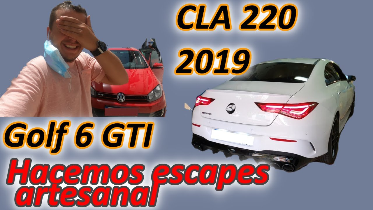 Increible sonido!!!! Escapes Artesanales GTI Y CLA By TuboMax!