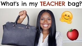 What's in my teacher bag?! | trophdoph