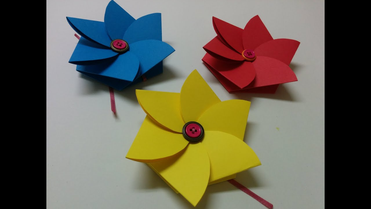 Art And Craft How To Make Flower Envelope Teacher S Day