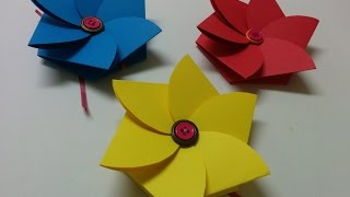 Art and Craft: How to make Flower envelope/ Teacher