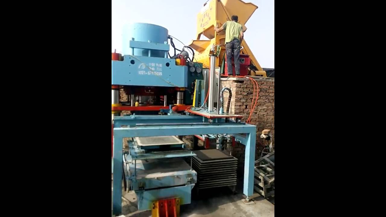 Automatic floor tile machine terrazzo tile machine concrete tile automatic floor tile machine terrazzo tile machine concrete tile machine for floor use dailygadgetfo Image collections