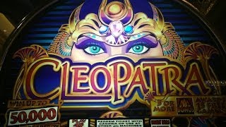 Cleopatra Slot Machine Bonus-Dollar Denomination
