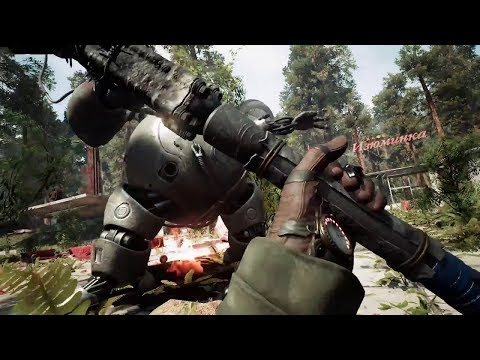 Atomic Heart: Gameplay Trailer Adventure Upcoming Fps Soviet Union Game Part -1 (2018) PC/PS4