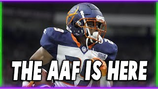 The AAF: THE NEXT BIG THING IN SPORTS