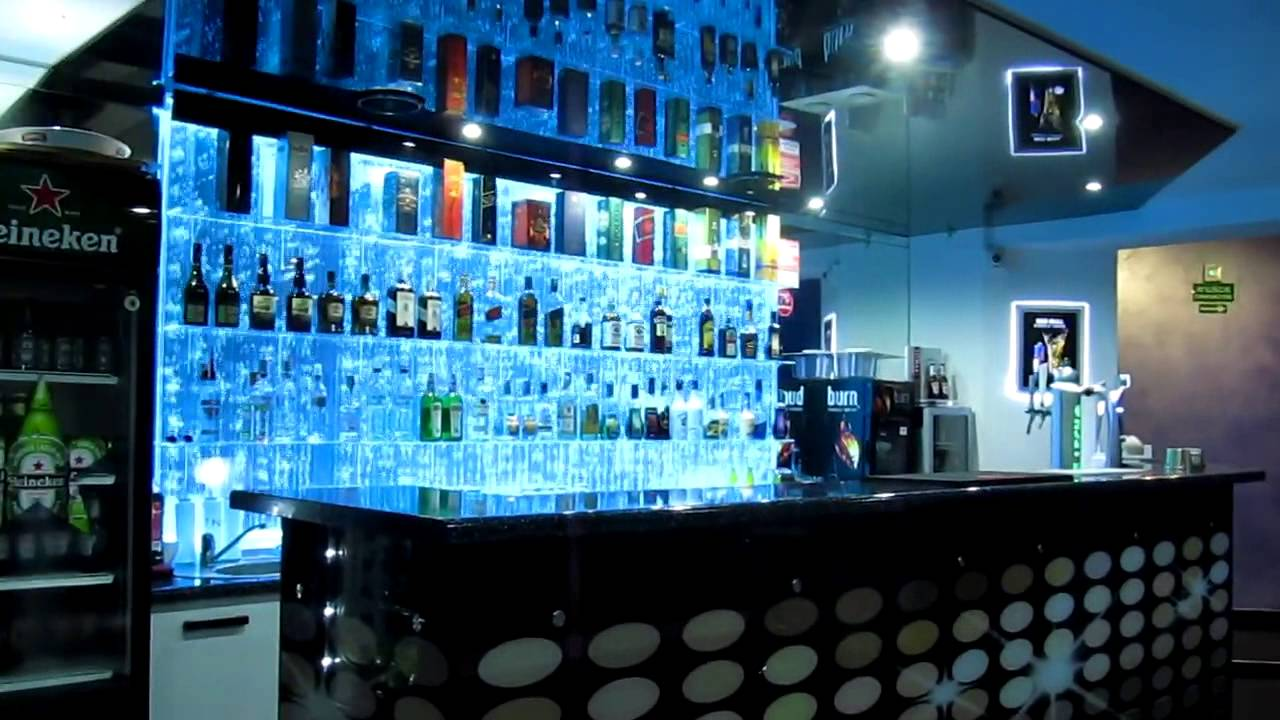 Bar Wodny Bąbelkowy Bubble Wall Bar Youtube