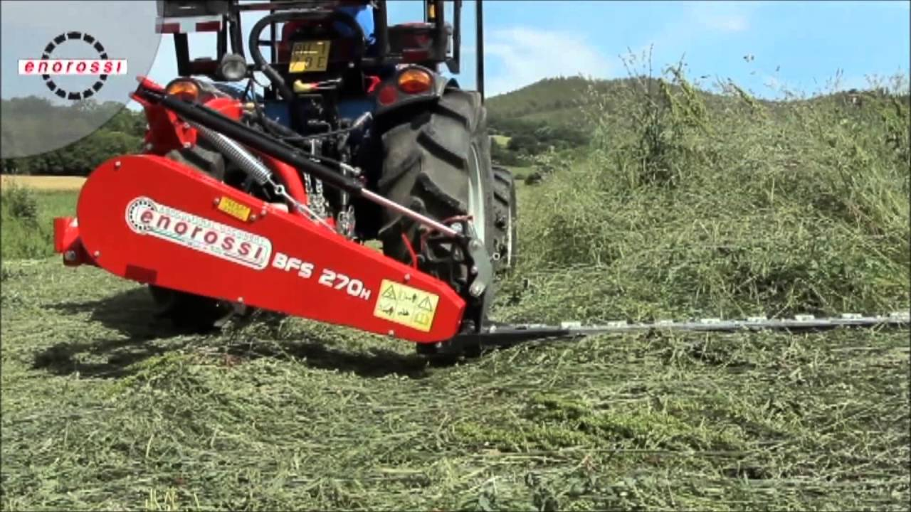 ENOROSSI SICKLE BAR MOWERS - BFS SERIES