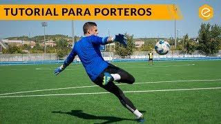 CÓMO SACAR de VOLEA en 3 PASOS· TUTORIAL PORTERO, ARQUERO, GUARDAMETA
