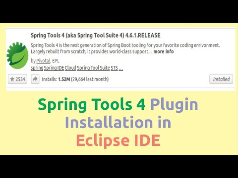 Eclipse Ide For Spring Boot