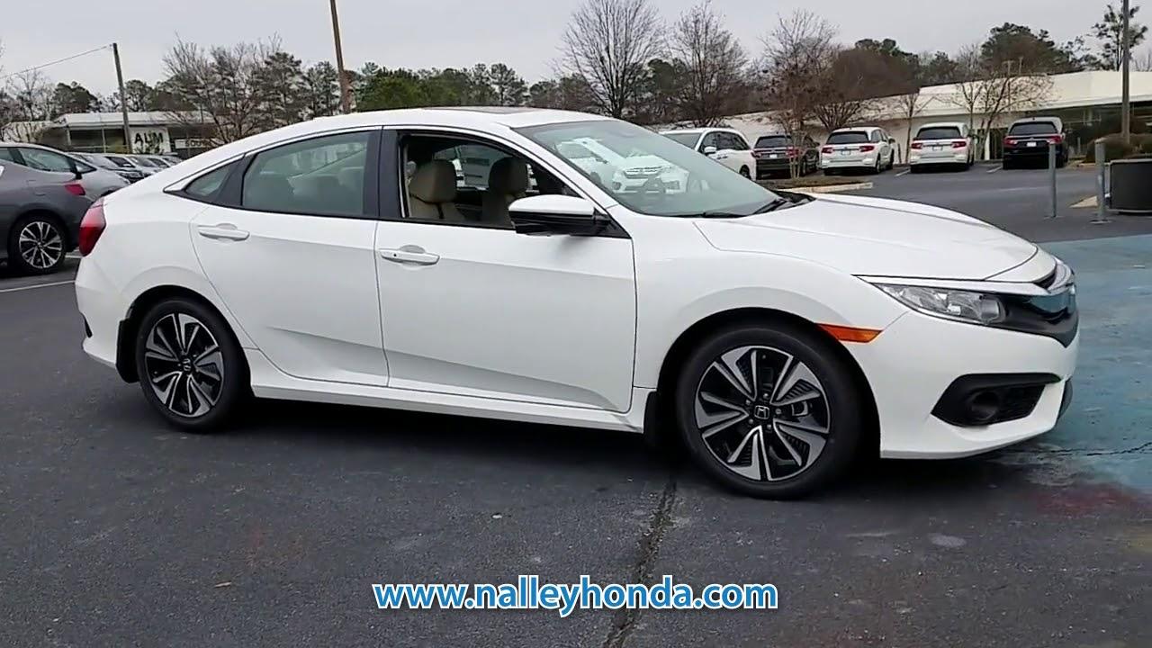 New 2018 Honda Civic Ex L At Nalley Honda New Jh642255