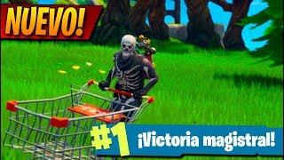 **NUEVO** PRIMERA vez con CARRITO de la Compra! FORTNITE: Battle Royale