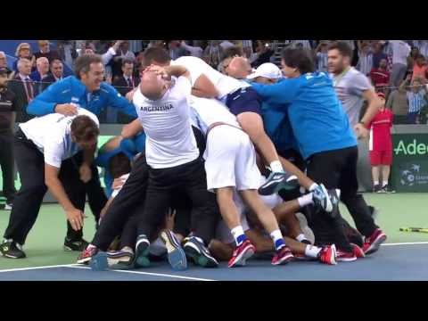 Delbonis clinches the 2016 Davis Cup title for Argentina