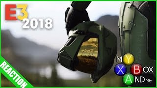 HALO INFINITE REACTION - E3 2018