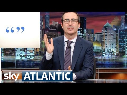 Last Week Tonight With John Oliver - Famous American Figures Misquoted