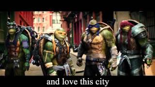 Черепашки-ниндзя 2 трейлер с английскими субтитрами / TMNT 2 trailer with english subtitles
