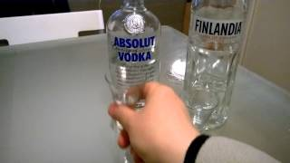 Vodka wars Finlandia vs Absolut(Blind testing of Scandinavian vodkas Finlandia and Absolut., 2015-03-24T02:37:36.000Z)