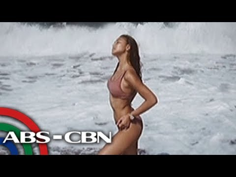 UKG: Nadine Lustre, 'beach babe' sa kanyang  latest IG post