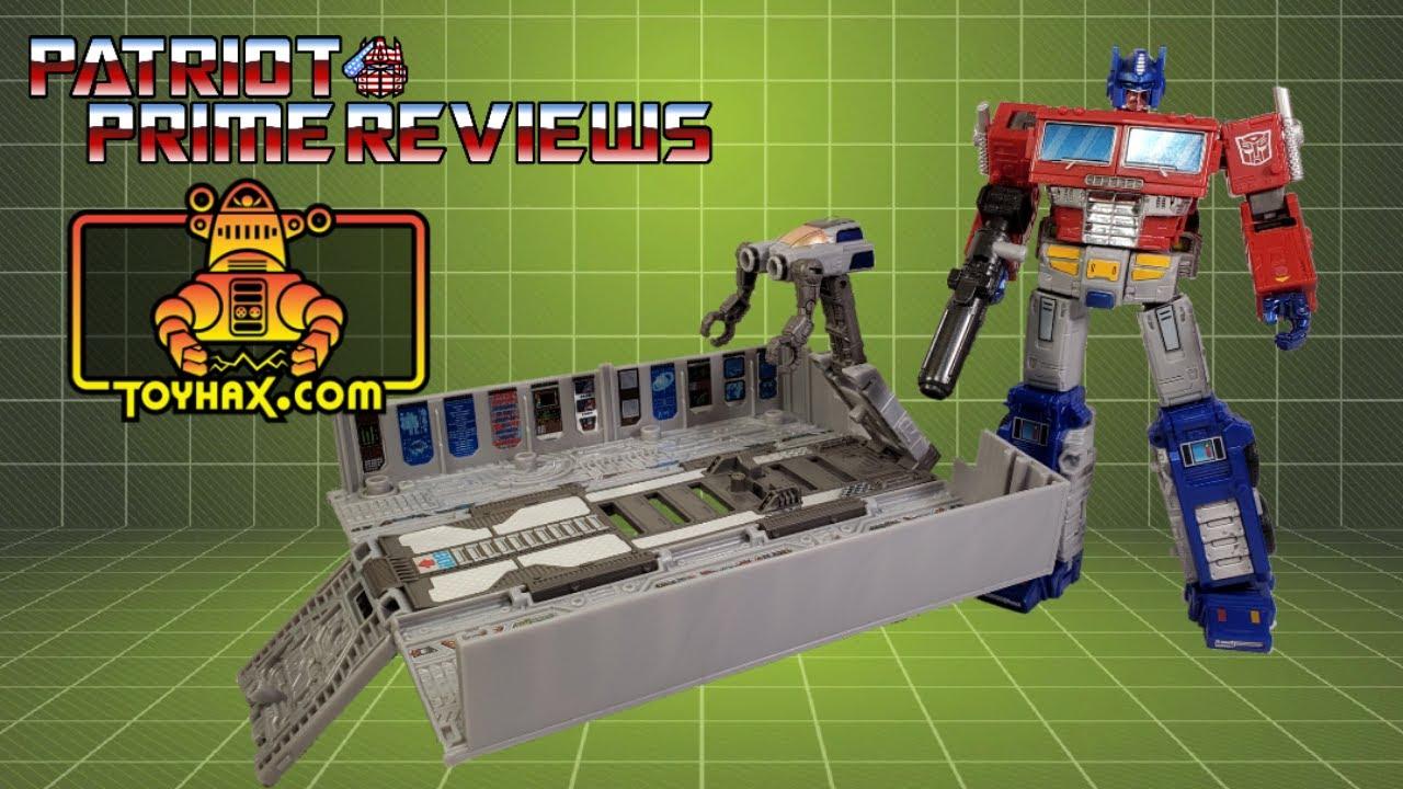 Patriot Prime Reviews Toyhax Decal Set for Earthrise Optimus Prime