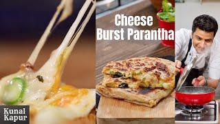 5min Cheese Burst Parantha in Hindi चीज़ बर्स्ट पराँठा का नाश्ता | Kunal Kapur Snack Paratha Recipes
