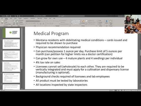 Erin Ducharme, MT Cannabis Control Division 8-18-21