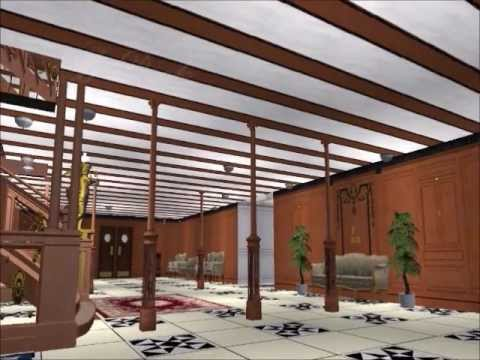 Sims 2 titanic grand staircase.wmv