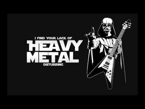 heavy metal star wars theme music youtube. Black Bedroom Furniture Sets. Home Design Ideas