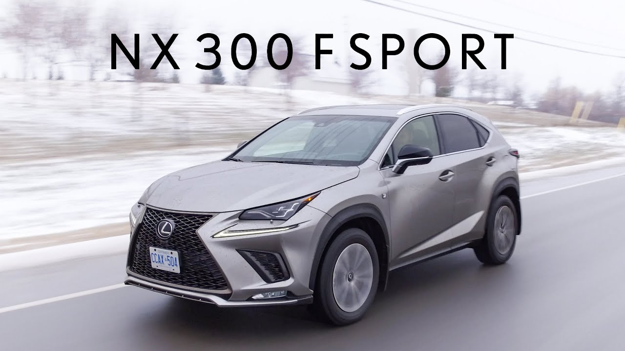 2019 Lexus NX300 F Sport Review - Luxurious Enough? - YouTube
