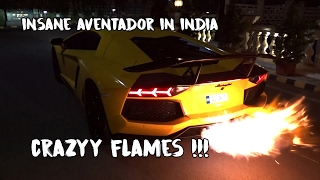 FLAME THROWER KING of India | DMC Lamborghini Aventador with Capristo Exhaust | #109