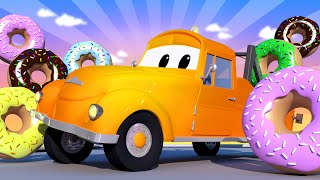 Эвакуатор Том - Спецвыпуск ко Дню Пончиков - Опасные пончики - детский мультфильм