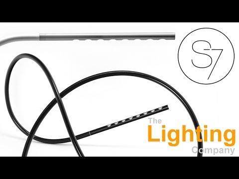 Flexible LED Floor Lamp Contemporary Lighting Modern Energy Efficient Buy Online UK