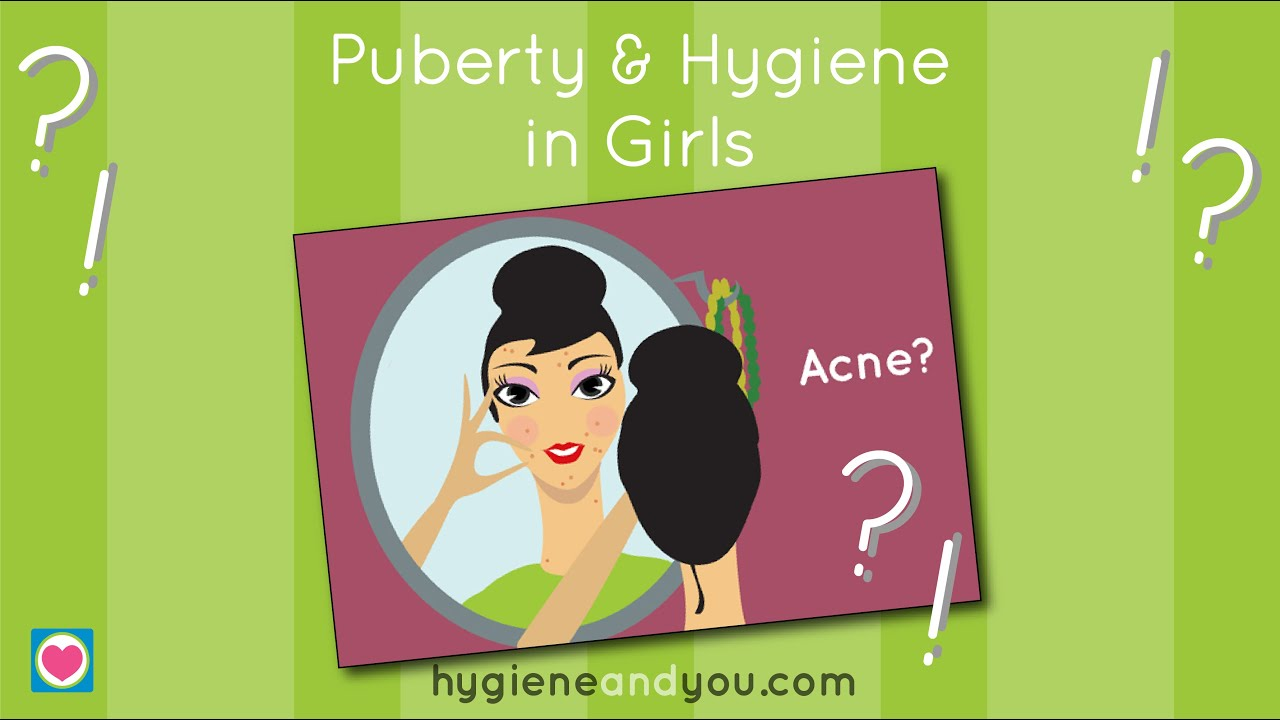 Puberty and Hygiene in Girls - YouTube