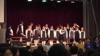 香港真光中學小學部4光班表演