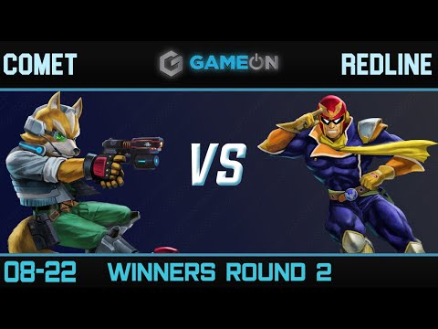 Comet (Fox) vs Redline (Captain Falcon) - Game On 8/22 Winners R2 |