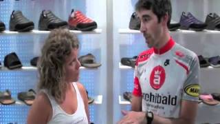 Cycling Shoe Insoles Review by Cyclist Charles Ostiguy SOLE Custom Footbeds @TheInsoleStore.com