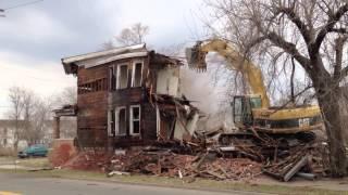Detroit House Demolition