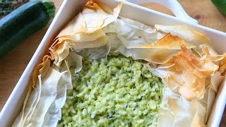 Zucchini And Rice Pie Recipe