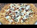 طريقة عمل البيتزا طريقة عمل البيتزا ف البيت أحلي من الجاهزه وتحدي👌👌👌 فيديو من يوتيوب