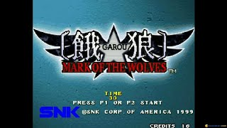 GAROU: MARK OF THE WOLVES gameplay (PC Game, 1999)