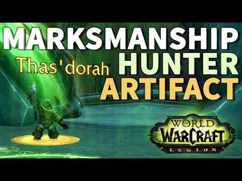 Rendezvous with the Courier WoW Marksmanship Hunter Artifact Quest