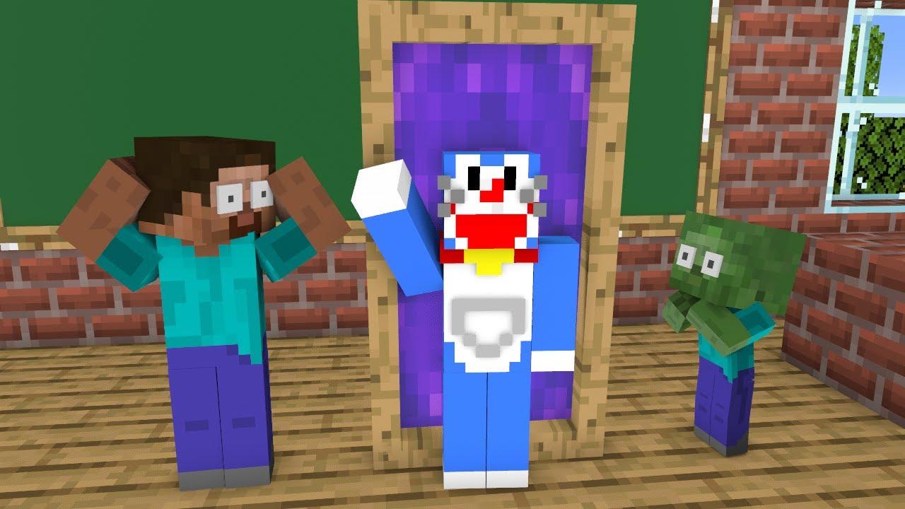 Download Monster School : Magic Door - Funny Minecraft Animation