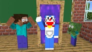 Monster School : Magic Door - Funny Minecraft Animation