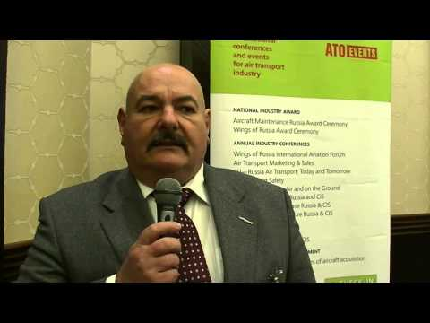 Claus Dunkel, CEO, DAC Aviation Consulting at Ground Handling Russia and CIS Conference