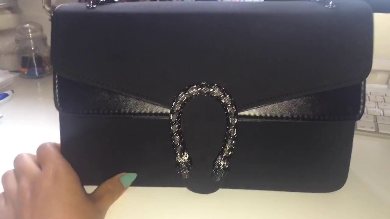 baab4af6aade Gucci dionysus dupe bag ebay - YouTube