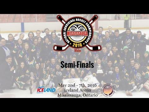 2016 NAHC - Semi-Finals - Ontario vs. North (Male)