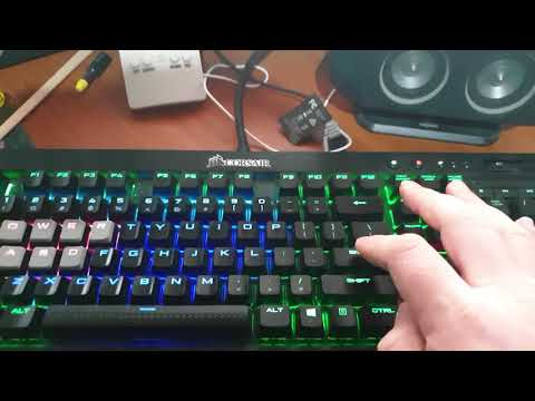 Is my spacebar supposed to sound like this? (K70 MK 2 RGB
