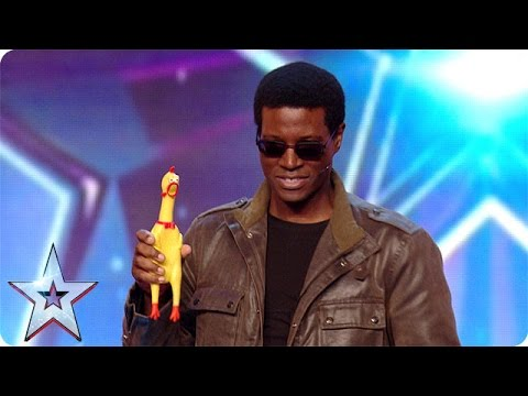 Can Ivor Dehaney and Mr Chicken wing it? | Britain's Got More Talent 2016