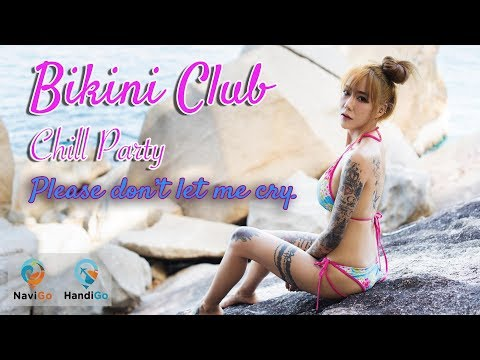 Please don't let me cry. (Official MV Version)  Pun Little Devil : Bikini Club @ Ko Samui Thailand