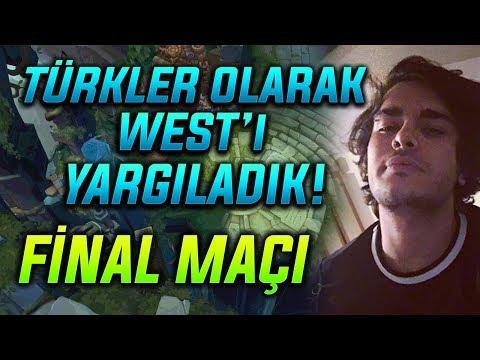 WEST TURNUVASI FİNAL MAÇI // TÜRKÜN GÜCÜ